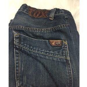 Desinger Men's Jeans Fox Brand Size 30